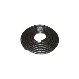 Black Spiral Wrap Cable Sleeving - 1/2 Diameter / 100 Length