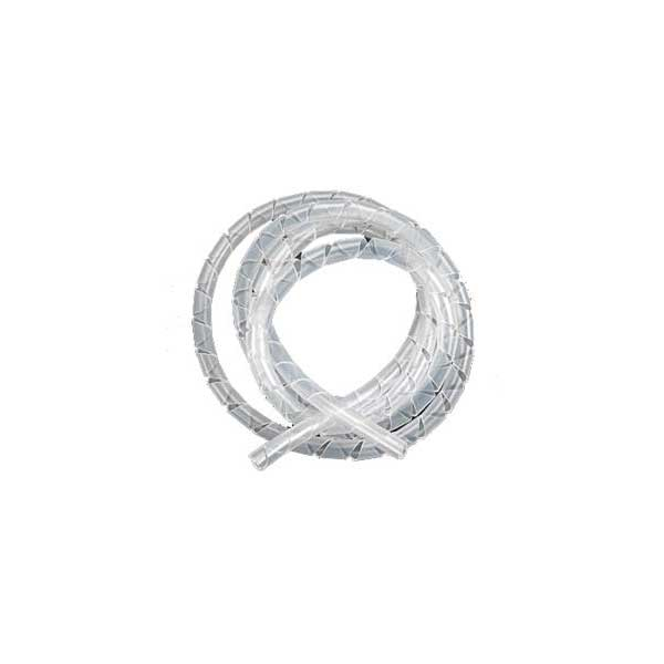 "Clear Spiral Wrap Cable Sleeving - 1/2"" Diameter"