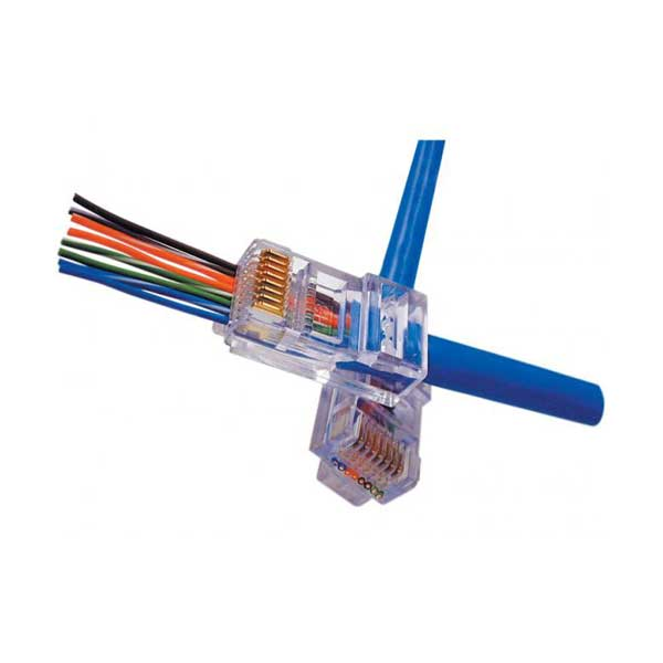 Platinum Tools' EZ-RJ45 Cat 5/5e Connectors - 50 Pack