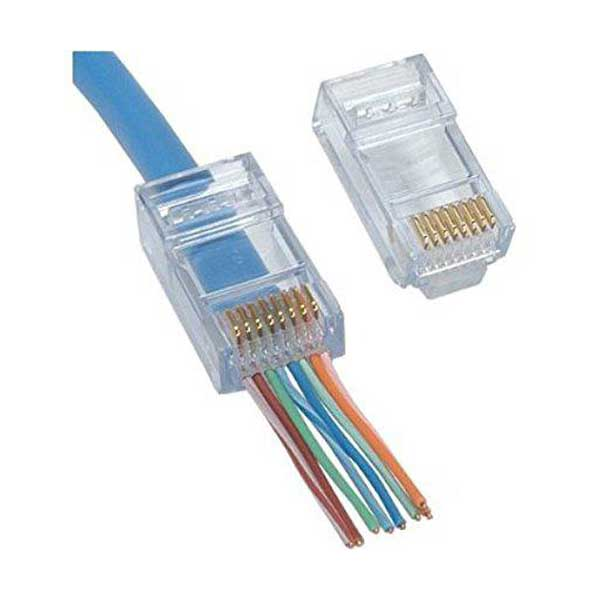 Platinum Tools' EZ-RJ45 Cat 6+ Connectors - 50 Pack