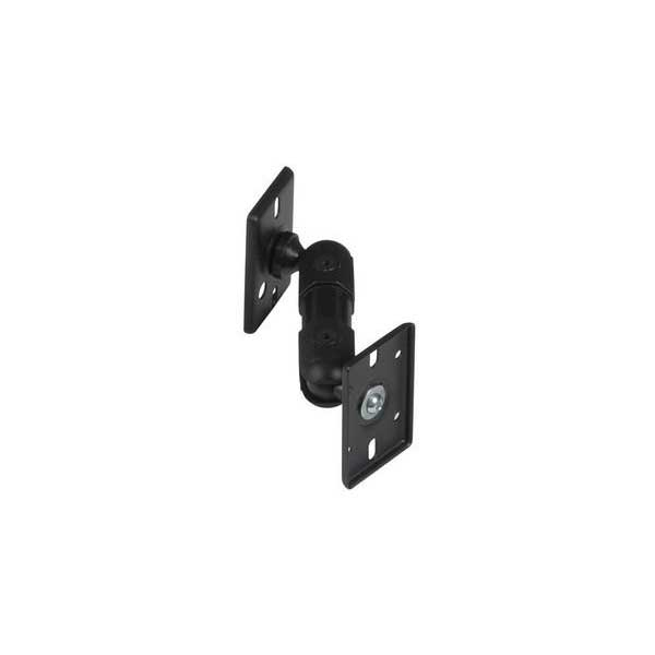 PanaVise 100106B Full Motion Dual Adjustment Ceiling/Wall Speaker Mount with 8 lb. Capacity (Black)