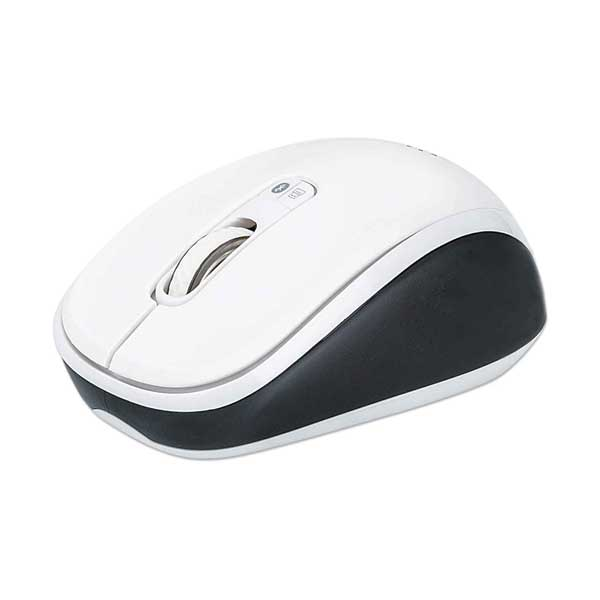 Manhattan 179645 Bluetooth / 2.4 GHz Wireless Dual-Mode Mouse with Three Buttons and Scroll Wheel
