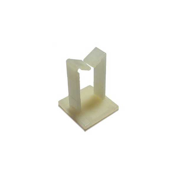 "Adhesive Backed Wire Saddles - 1"" Height, .75"" Diameter / 50 Pack"