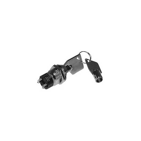 Key Switch w/ On or Off Position - DPST