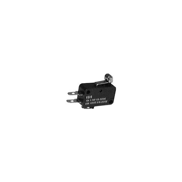 Miniature Snap Action Momentary Switch w/ Short Roller Lever - SPDT