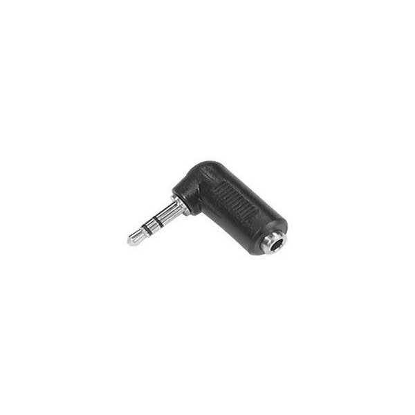 3.5mm Right Angle Stereo Male to Female Adapter