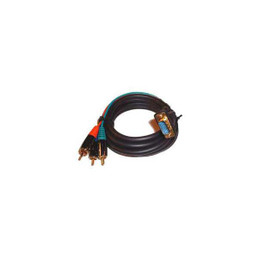 VGA to RCA Shielded Component Video Cable - 6
