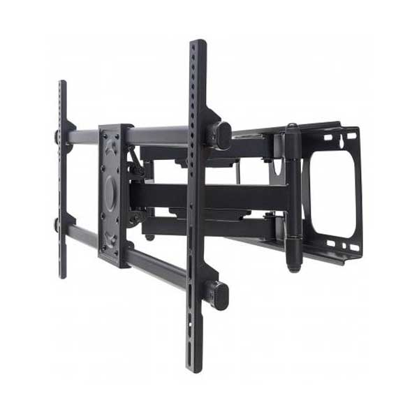 "Manhattan 461290 Universal Heavy Duty Full Motion Flat-Panel TV Wall Mount (37"" to 90"" , Black)"