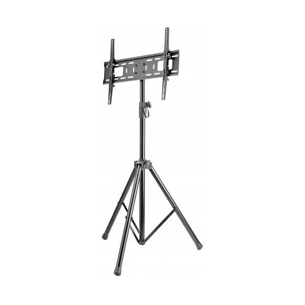 "Manhattan 461412 Universal Tilting Adjustable Height Portable Tripod TV Mount (37"" to 70"" , Black)"