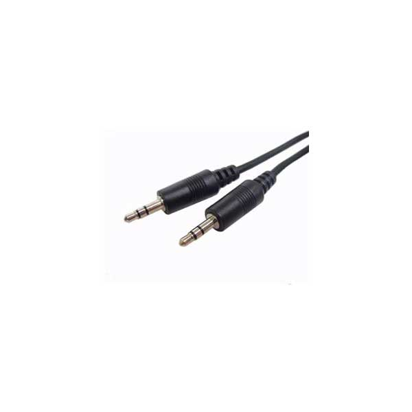 3' Stereo Cable with 3.5mm Stereo Plug to 3.5mm Stereo Plug