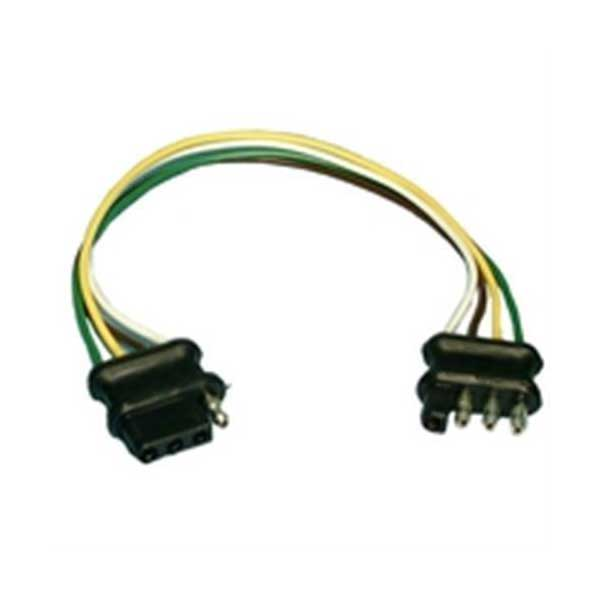 Molded Trailer Harness - 16AWG / 4 Position