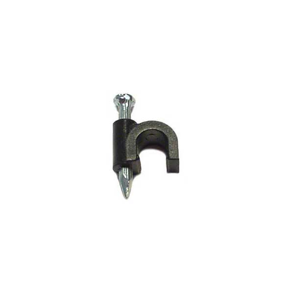 RG-59 Cable Clips - Black