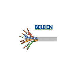 Belden DataTwist 6 Unshielded Twisted Pair Networking Cable - Gray
