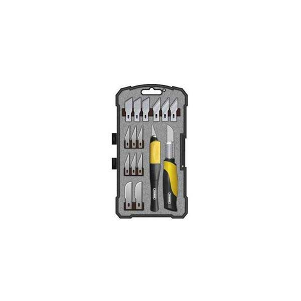 General Tools 18-Piece Precision Hobby Knife Set