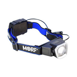 Police Security Morf B250 3-in-1 LED Headlamp + Rechargeable Magnetic Flashlight