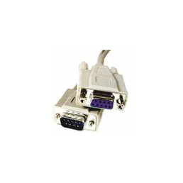 DB9 Male to Female Extension Cable - 15