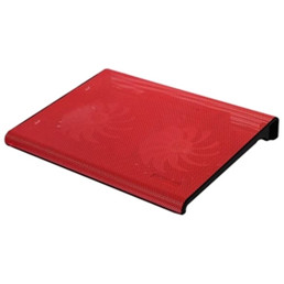 Aluratek Slim USB Laptop Cooling Pad (Red)