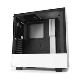 NZXT CA-H510I-W1 H Series H510 Matte White Mid Tower ATX Gaming Computer Case