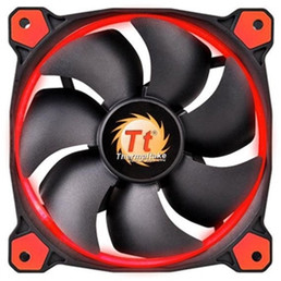 Thermaltake Riing 12 High Static Pressure LED Radiator Fan (Red)
