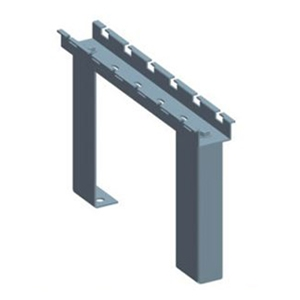 "Cable Tray 12"" Cabinet Top Stand, Zinc"