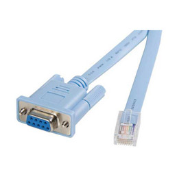 ST CONSOLE DB9 TO RJ45 CABLE