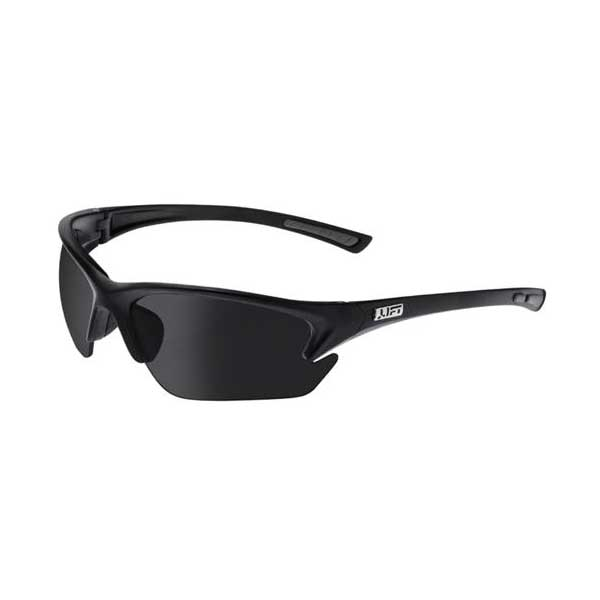 Lift Safety EQT-12KST QUEST Safety Glasses (Black, Smoke)