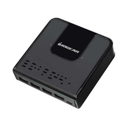 IOGEAR GUS432 4-Port Type A 2-Port Type B USB 3.0 Peripheral Sharing Switch