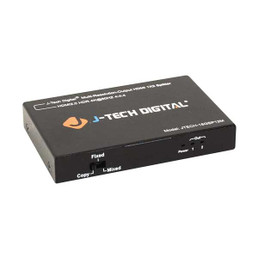 J-Tech JTECH-18GSP12M Digital Scaler/Multi-Resolution Output 18GBps HDMI 2.0 Splitter HDR10/Dolby Vision 4K@60Hz 4:4:4