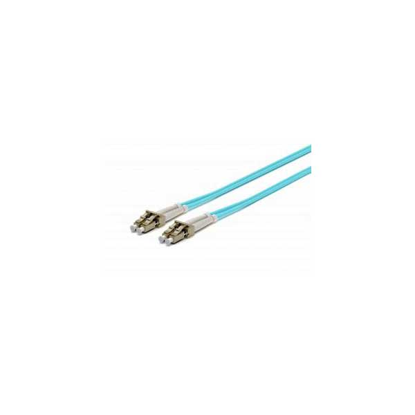 LC-LC Multimode (OM3) Fiber Optic Patch Cable - 1 Meter