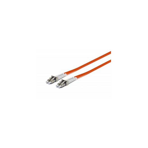 LC-LC Multimode (OM1) Fiber Optic Patch Cable - 2 Meter