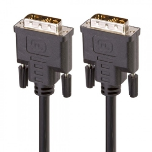 6' DVI-D Male to DVI-D Male Dual Link Cable