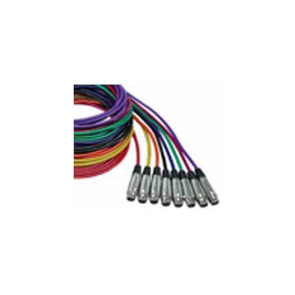 Rapco NQP Series XLR Cable (30' , Red)