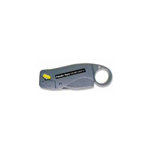 Paladin Coax Cable Stripper for RG59, RG6 & RG6 Quad Cable