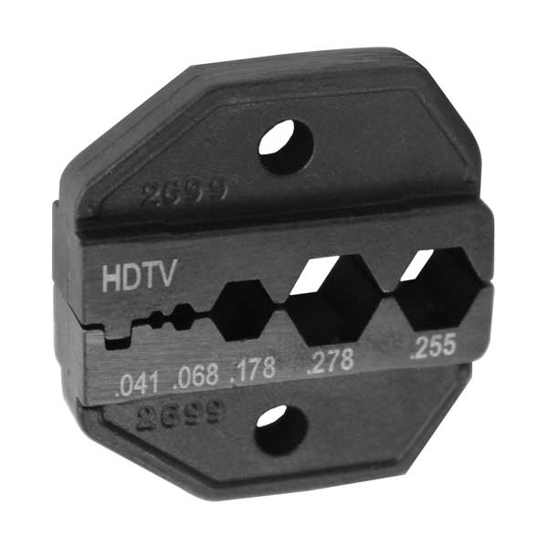 Universal HDTV Die for CrimpALL 8000 and 1300 Series