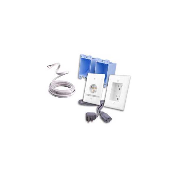 Vanco RL121224-WH Rapid Link Power - Complete Kit including Romex (White)