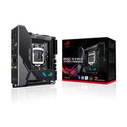 ASUS ROG STRIX Z490-I Gaming Mini-ITX Motherboard with Intel LGA 1200 CPU Support