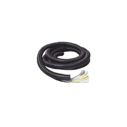 Black Split Loom Tubing - 1 I.D. / 6 Length