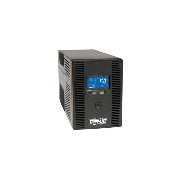 Tripp Lite 1500VA UPS Smart LCD Tower Battery Back Up AVR 120V USB Coax RJ45