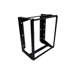 """Bright Metal Solutions SWR4818 24U 48"""" x 18"""" Swing-Out Wall Rack"""