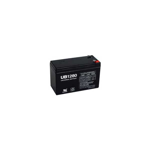 12V 8Ah Sealed Lead Acid Battery w/ F2 Terminals