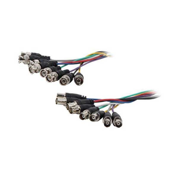 15' ALL IN ONE 8 BNC CABLE MF