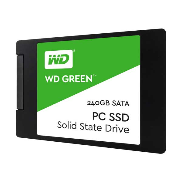 WD Green SSD WDS240G2G0A - Solid state drive - 240 GB - internal - 2.5