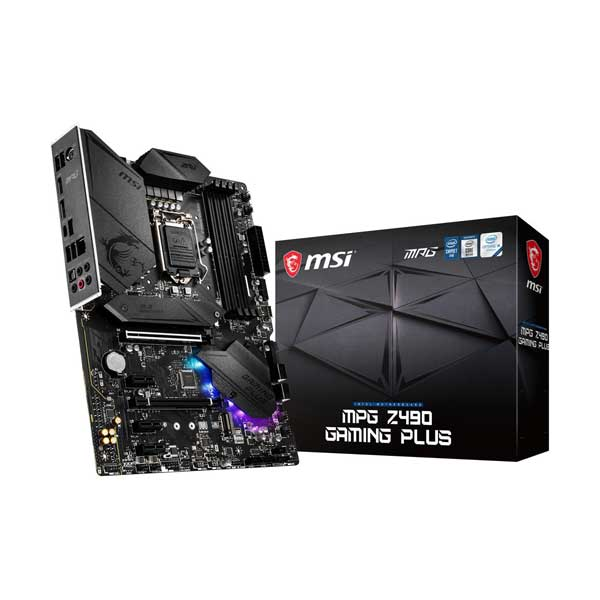 MSI Z490GAPLUS MPG Z490 Gaming Plus LGA 1200 ATX Motherboard